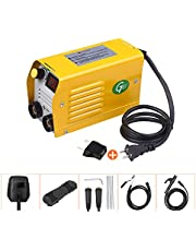 Festnight Arc Welder 250Amps LCD Welding Machine Portable Mini Electric Welder Anti-Stick for 2.5-3.2mm Rods for Welding Electric Work with Safety Set