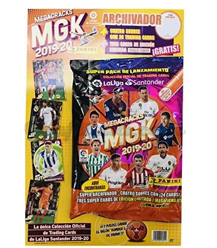 Panini Pack Lanzamiento Megacracks 2019-2020
