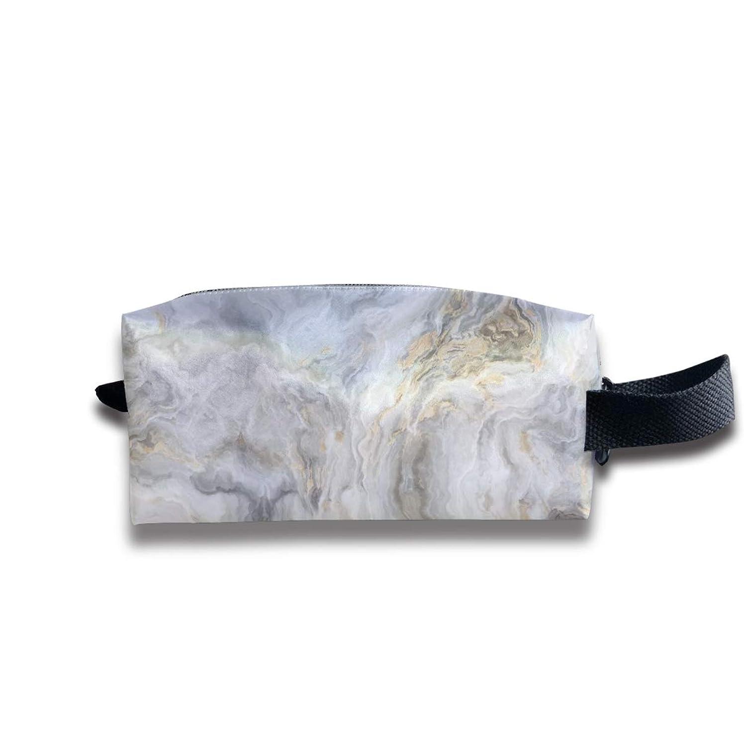 白い大理石 ペンケース文房具バッグ大容量ペンケース化粧品袋収納袋男の子と女の子多機能浴室シャワーバッグ旅行ポータブルストレージバッグ