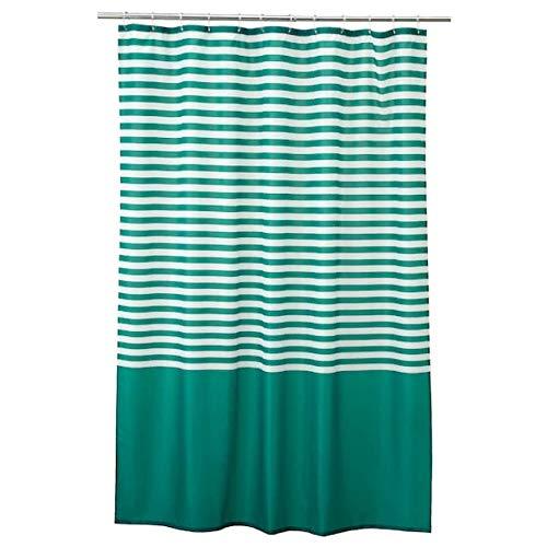 Ikea Vadsjon Shower Curtain Dark Green 71x71 304.394.81
