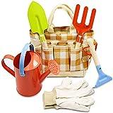 Zerobox Kinder-Gartenwerkzeug-Set, einfach zu tragen und zusammenklappbar, für Kinder