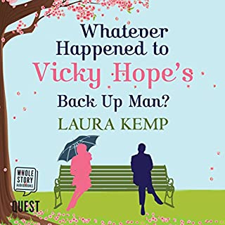 Whatever Happened to Vicky Hope's Back Up Man audiobook cover art