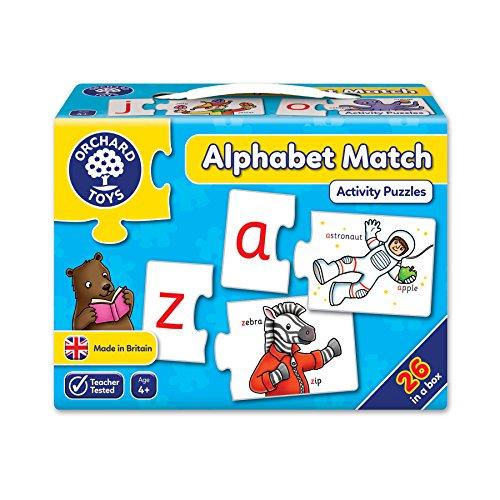 Orchard Toys Alphabet Match Puzzles (52 Piece)