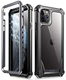 POETIC iPhone 11 Pro Max Rugged Clear Case, Full-Body