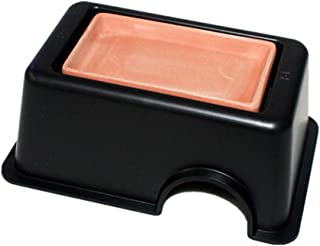 OMEM Reptile Hideout Box with Sink to Increase Humidity and Water Supply