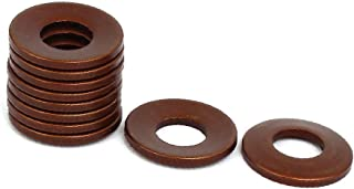 Aexit 10mm Outer Washers Dia 5.2mm Inner Dia 0.25mm Thickness Belleville Spring Belleville Washers Washer 50pcs