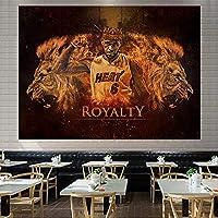 アーヴィング2#ポスタータペストリーの壁掛け、ケレンティックス写真プリントウォールアート装飾ファン記念品スポーツファン寝室レイアウトベッドサイドウォールカバー E-200*150CM
