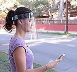 KMINA - Pantalla Protección Facial Transparente (Pack x5 uds), Pantalla Protectora Cara, Protector F... #4