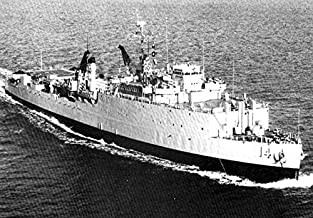 Home Comforts The U.S. Navy Dock Landing Ship USS Rushmore (LSD-14) underway in The Mediterranean Sea, in 1965. Vivid Imagery Laminated Poster Print 24 x 36