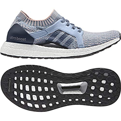 adidas Ultraboost X, Zapatos para Correr para Mujer, Azul (BLU Azutac/Azusen/Corneb), 41 EU