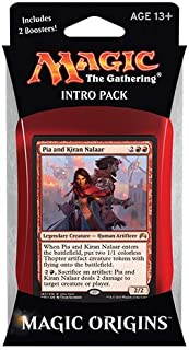 Magic the Gathering: MTG Magic Origins: Intro Pack / Theme Deck: Pia and Kiran Nalaar (includes 2 Booster Packs &