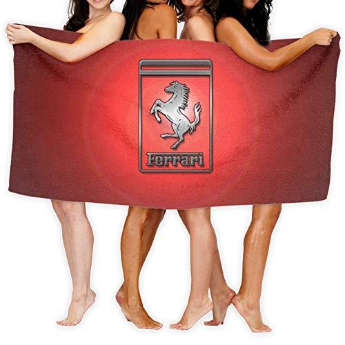 Large Puzzle Toalla de playa de secado rápido de Ferrari, toalla de baño Cobra Kai, toallas de baño súper absorbentes para gimnasio, playa, spa SWM