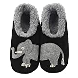 Snoozies Pairables Womens Slippers - House Slippers - Elephant - Medium