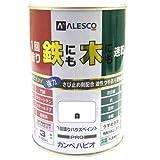 カンペハピオ 1回塗りハウスペイント 白  0.5L