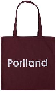 VICTOE Handtasche aus Segeltuch, handgefertigt, für Einkauf, Schule, Bücher, Reisetasche, Rot/Weinrot