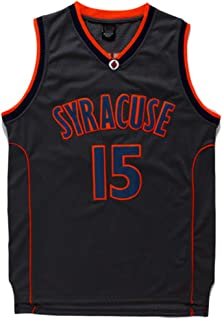 Men's Syracuse Collegiate Athletic #15 Retro Embroidered Basketball Jersey