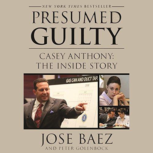 Presumed Guilty audiobook cover art