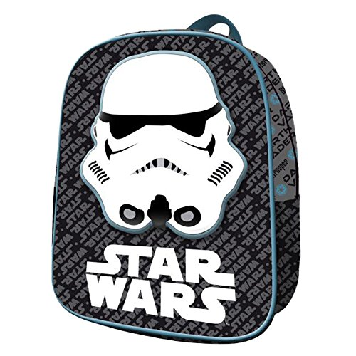 Star Wars AS029 - Licencia Mochila Infantil, 30 cm, Multicolor