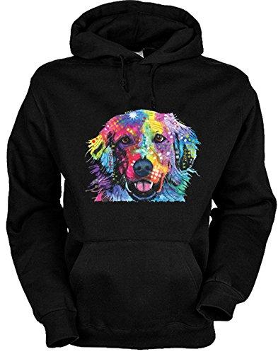 trag-das Golden Retriever - Hunde Kapuzensweater mit Hundemotiv Sweater Pullover mit Kapuze für den Hundefreund