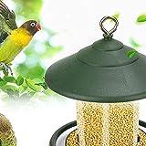 Gmasuber Comedero para pájaros, mesa de hotel, semillas de maní colgante de succión para pájaros silvestres, Finch, Cardinal y Bluebird