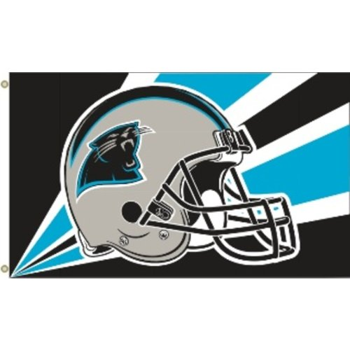 NFL Carolina Panthers 3von 5Fuß Flagge