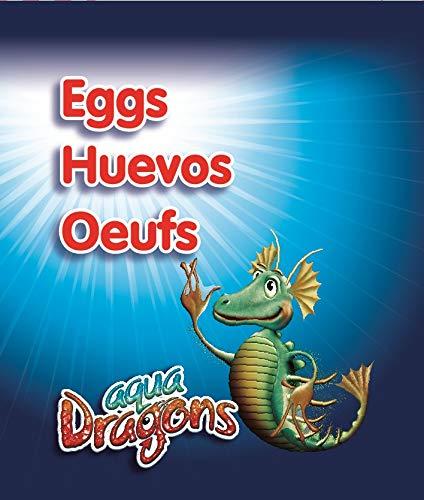 Aqua Dragons- Huevos, Multicolor (World Alive SL 01ADEG)