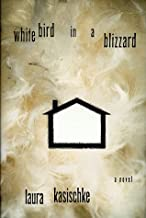 a white bird in a blizzard book