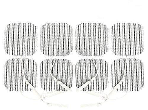 TENS Unit Pads 2X2 8 pcs TENS Electrodes Pads
