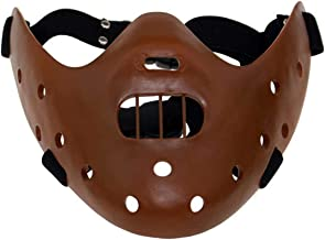 Amazon Com Hannibal Lecter Mask And if that wasn't disturbing enough, put on the mask and then put the muzzle on over it. amazon com hannibal lecter mask