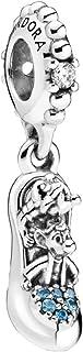 PANDORA Disney Cenicienta - Colgante de Plata de Ley 14 x 9,6 x 5,7 mm