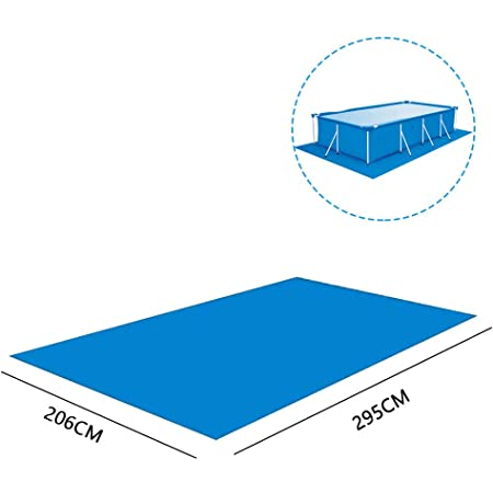 Details about  /Moisture-proof Pool Ground Cloth Garden Inflatable Pool Floor Mat Cushion Sheet