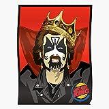 Orangeburps Burger Heavy King Funny Metal Meme Diamond