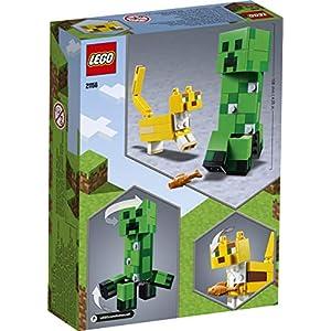 Amazon.co.jp - レゴ マインクラフト ビッグフィグ クリーパーとヤマネコ 21156