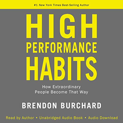 Page de couverture de High Performance Habits