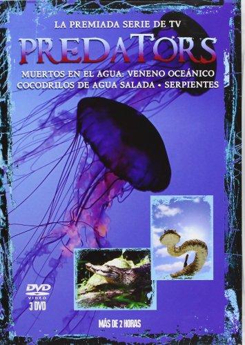 Pack Predators 4: Veneno Oceánico + Cocodrilos De Agua Salada + Serpientes [DVD]