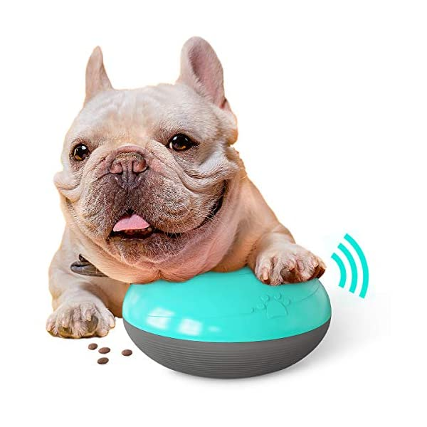USWT Squeaky Dog Food Dispensing Toy, Pet Treat Sound Toy