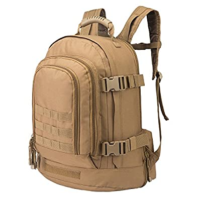 Outdoor 3 Day Expandable 40L-64L Backpack Military Tactical Hiking Bug Out Bag