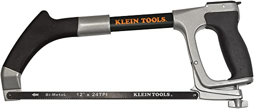 Hacksaw includes Hacksaw and Reciprocating Blades, Adjustable Tension to 30,000 PSI Klein..