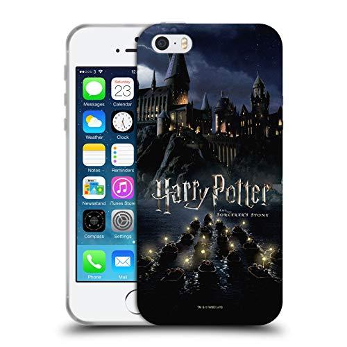 Head Case Designs Ufficiale Harry Potter Castello Sorcerer's Stone II Cover in Morbido Gel Compatibile con Apple iPhone 5 / iPhone 5s / iPhone SE 2016