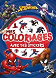 SPIDER-MAN - Mes coloriages avec stickers - MARVEL