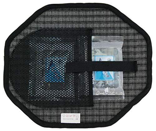 ●抗菌保冷剤2個サービス●帽子用 ハニカムインナー 八角形 保冷剤ポケット付 ヘルメット、制帽、キャップ ハット等にフィット