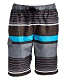 UPF 50+ quick dry microfiber: lightweight and durable for your most comfortable pair of swim trunks Triple needle side seams and rises make Kanu Surf swimming trunks and bathing suits among the highest quality you will own Side seam pockets and cargo...