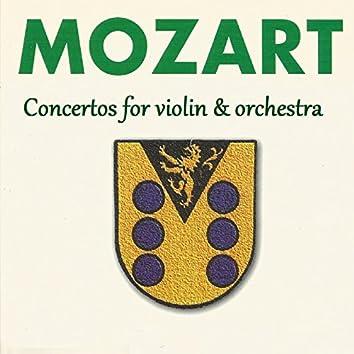 Mozart - Concertos for violin & orchestra