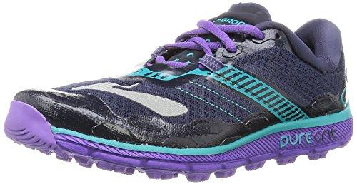 Brooks Damen PureGrit 5 Laufschuhe, Grau (violett), 39 EU