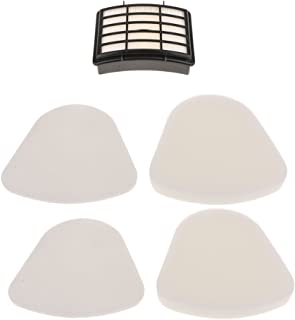 FITYLE 5pcs Replacement Vaccum Filter for Shark NV350/NV352/NV355/NV356/NV357/UV440