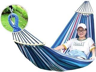 LULUD Camping Hammock - Multipurpose - Outdoor, Indoor, Beach, Garden, Camping - Swing Bed - Dormitory Swing - Prevent Rol...