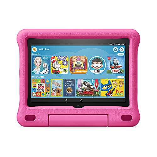 Amazon Kid-Proof Case for Fire HD 8 tablet (Only compatible with 10th generation tablet, 2020 release) Pink