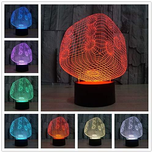 Nur 1 Stück 1 Stück Usb Led 3d LampPower Bank Nachtlicht Nachtlicht Für Kinder Weihnachtsgeschenke Nachtlicht