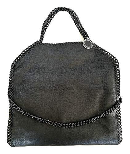 Stella McCartney Luxury Fashion Donna 234387W81801000 Nero Poliestere Borsa A Spalla | Stagione Permanente