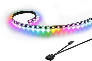 Speclux magnetisk LED-remsa, adresserbar PC LED, digital ARGB Remsa, 50 cm (endast kompatibel med 5V 3-PIN ADD Rubrik)